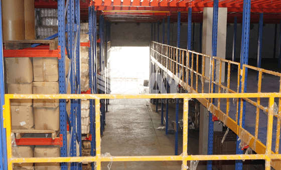 Rack Supported Mezzanines   Jay Storage Solutions