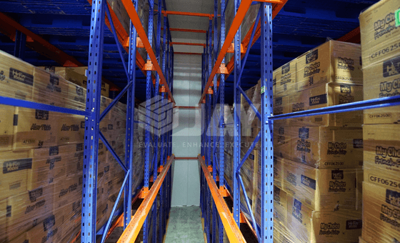 drive through pallet racking