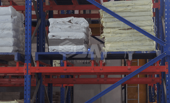 ASRS high bay pallet packing