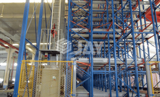 Industrial storage system stacker cranes For Pallets Shuttle